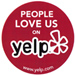 Love us on Yelp